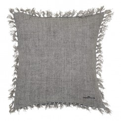 GreenGate - Pudebetræk -  Heavy linen warm grey