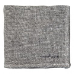 GreenGate - Stofservietter Heavy linen warm grey