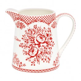 GreenGate Kande - Jug - Stephanie Red