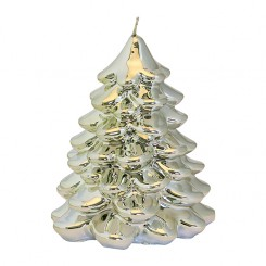 GreenGate - Stearinlys - Candie Xmas Tree - Silver