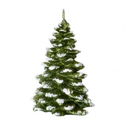 GreenGate - Stearinlys - Candie Xmas Tree - Green