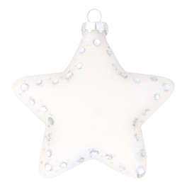 GreenGate Julestjerne - Star off white